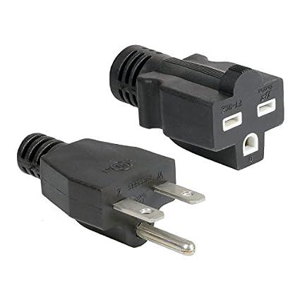 240v Extension Cord >> Grow1 240v Extension Cord 14 Guage For Hydroponics Sku 804250 Reflectors Ballasts Grow Lights 1 50 Foot