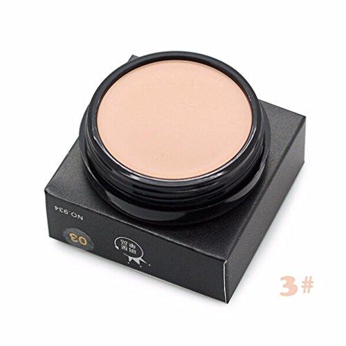 ❤JPJ(TM)❤️ Girls Concealer,Women Creative Foundation Cream Moisturizing Oil-control Concealer Makeup (C)