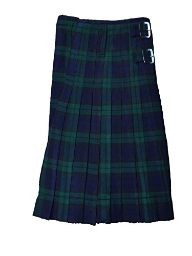 McWilliams Active Men Black Watch Scottish Highland Tartan Kilt (42, Black Watch) ()