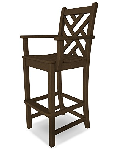 Chippendale Bar Arm Chair Finish: Teak (Bar Chippendale)