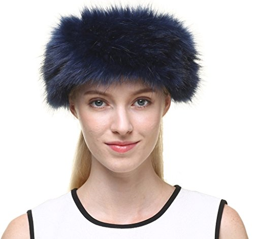 New Fox Fur Headband - 5