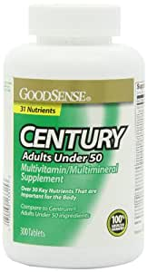 GoodSense CENTURY Multivitamin/Multimineral Supplement tablets, 300-Count