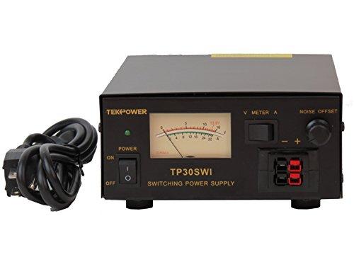 [해외]TekPower 아날로그 디스플레이 TP30SWI 30 Amp DC 13.8V 스위칭 전원 공급 장치 (잡음 오프셋 포함)/TekPower Analog Display TP30SWI 30 Amp DC 13.8V Switching Power Supply with Noise Offset