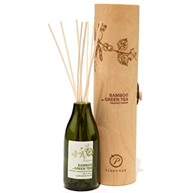 Paddywax Eco Green Fragrance Diffuser, Bamboo and Green Tea