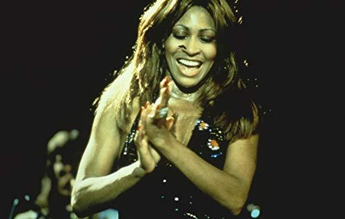 - Tina Turner Early 1970's 35mm Film Slide Perfomring in Concert
