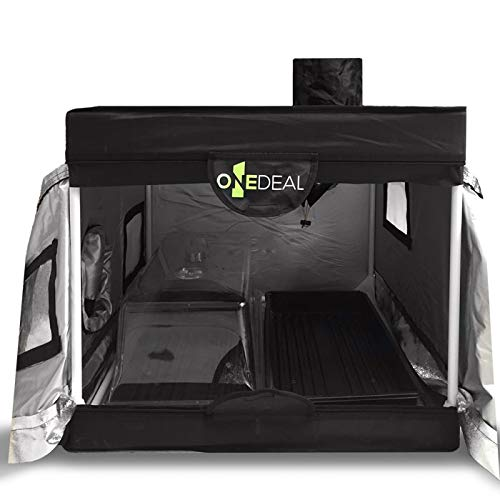 OneDeal Mini Clone Box Grow Tent 2' x 2' + Stakes ()