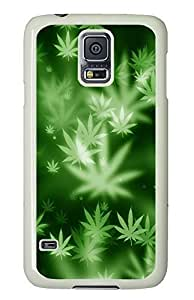 spec Samsung Galaxy S5 covers Weed Nature Awesome PC White Custom Samsung Galaxy S5 Case Cover