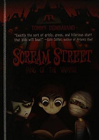 book cover of Scream Street