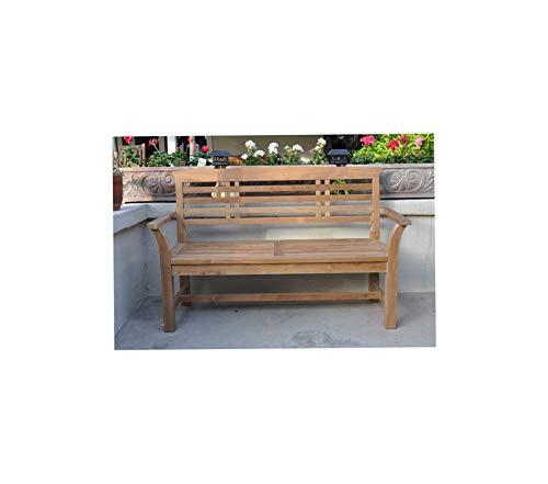 Аndеrsоn Tеаk Patio Outdoor Garden Premium No Cushion Sakura 2-Seater Bench