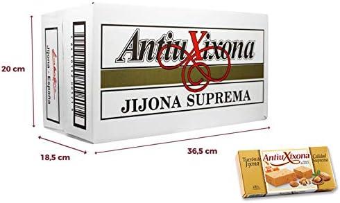 Caja de 32 unidades de Turrón de Jijona (blando) Antiu Xixona Etiqueta Blanca: Amazon.es: Alimentación y bebidas