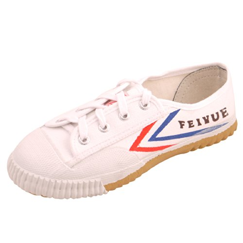 Zelten S00021 Dabowen Feiyue 511,White,45(US Men 10.5-11 | Women 12)