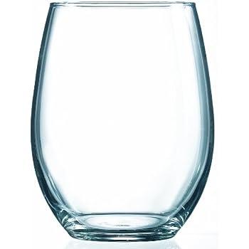 ARC International Luminarc Cachet Stemless Wine Tumbler, 21-Ounce, Set of 4