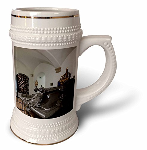 3dRose Danita Delimont - Munich - Germany, Munich, Michaelskirche church, crypt, grave of King Ludwig II - 22oz Stein Mug (King Ludwig Beer)