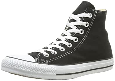 Converse Men's Chuck Taylor High Top Sneaker Black 5 M