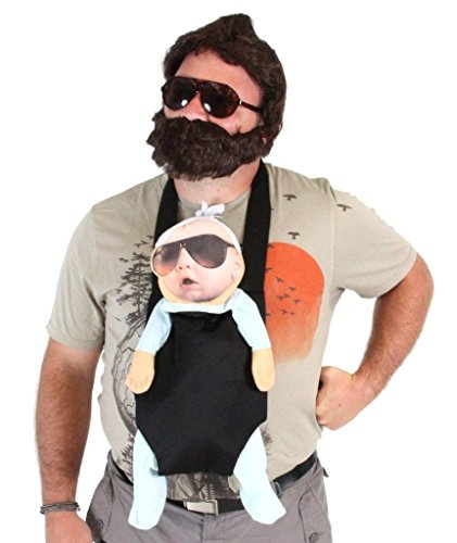 The H (Alan Hangover Wig)