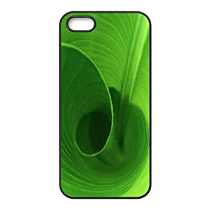 IPhone 5,5S Cases Banana Leaves, Color Case for Iphone 5s - [Black] Okaycosama