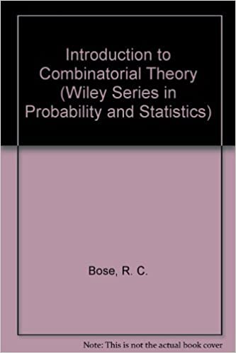 Amazon com: Introduction to Combinatorial Theory (Wiley