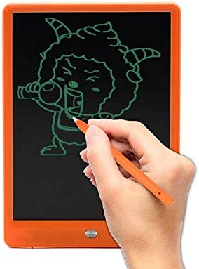 Qucking Light 10 Inch LCD Writing Tablet School and Office,Black Scribble and Play Color Colorful Display with Lock Switch for Kids and Adults at Home