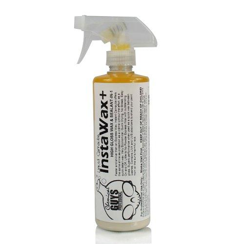 Chemical Guys WAC_101_16 InstaWax + Liquid Carnauba Shine and Protection Spray (16 oz) - Advanced Spray Wax