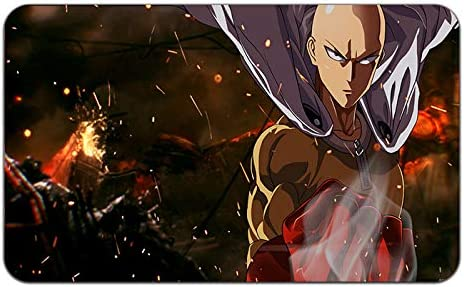 24 x 14 One Punch Man Anime Stylish Playmat Mousepad One Punch Man-11 MP Inches
