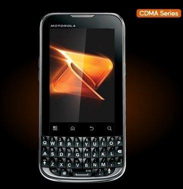 MOTOROLA XPRT MB612 - 2GB - Black (Boost Mobile) Smartphone (Motorola Xprt Mb612)