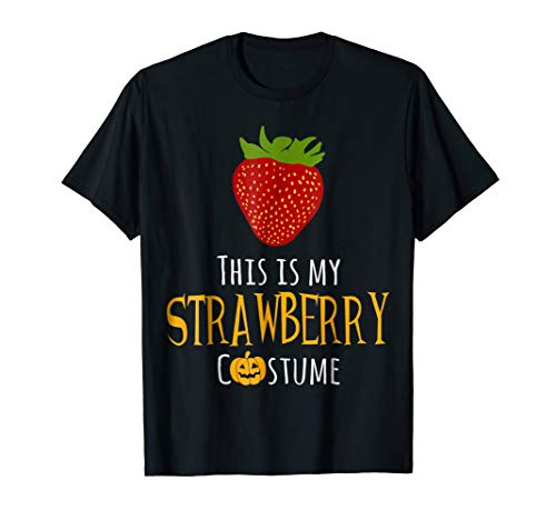This is My Strawberry Costume Easy Family Halloween -