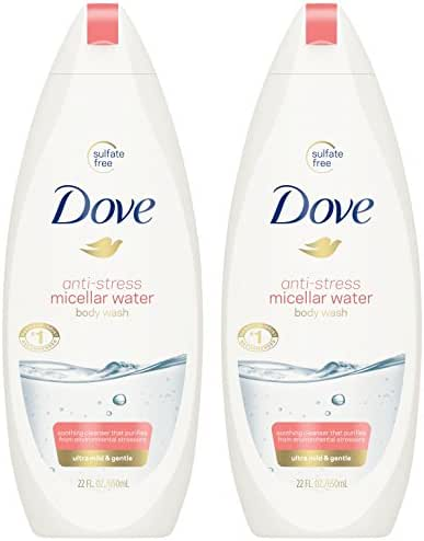 Body Washes & Gels: Dove Anti-Stress Micellar