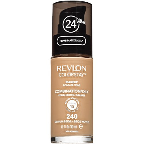 Revlon ColorStay Liquid Makeup for Combination/Oily, Medium Beige