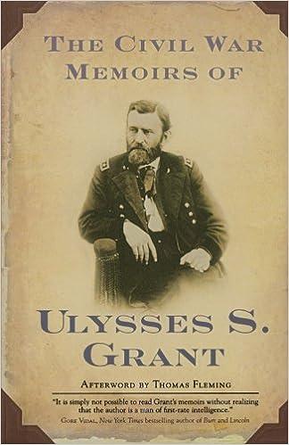 the civil war memoirs of ulysses s grant ulysses s grant brian  the civil war memoirs of ulysses s grant ulysses s grant brian m thomsen thomas fleming 9780765302434 com books