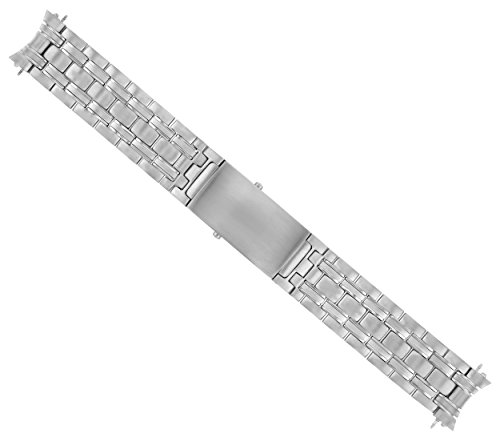 - Watch Band Bracelet FITS Omega James Bond 007-20MM SEAMASTER Silver