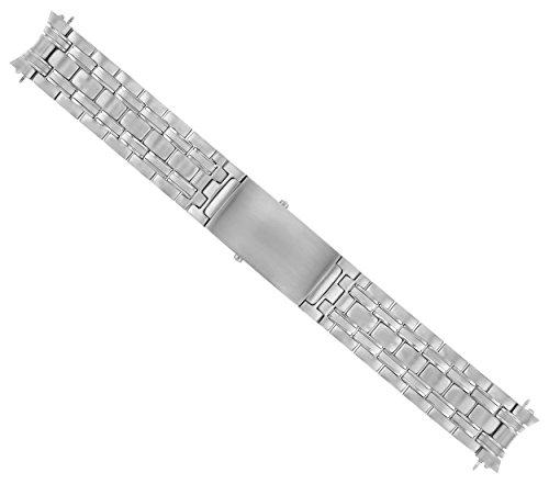 Watch Band Bracelet FITS Omega James Bond 007-20MM SEAMASTER Silver
