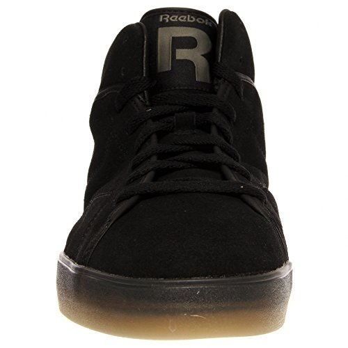 Reebok Mens Casual Fashion Sneakers V55639 T-Raww Black Suede - Import It  All 415e45d53
