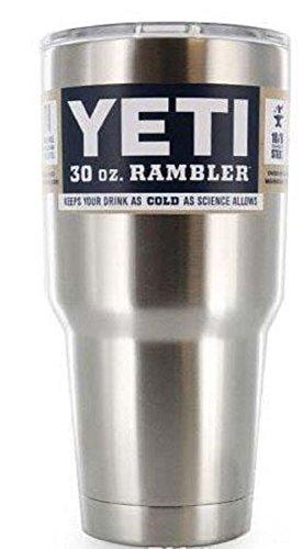 Best Seller in Camping Cups & Mugs Yeti Rambler Tumbler Stainless Steel, 30 oz