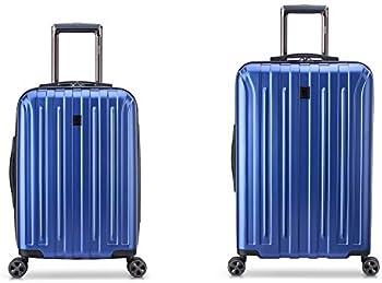 2-Piece DELSEY Paris Titanium DLX Hardside Spinner Luggage (21/25)