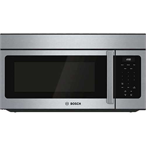 Bosch HMV3052U 300 1.6 Cu. Ft. Stainless Steel Over-the-Range Microwave