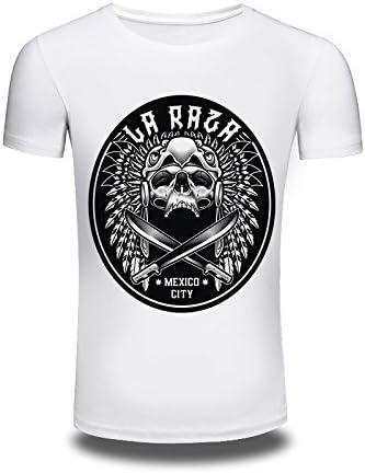 Camiseta para Hombre con diseño de Calavera Pintada en 3D, de ...