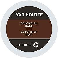 Van Houtte Colombian Dark Single Serve Keurig Certified Recyclable K-Cup pods for Keurig brewers, 24 Count