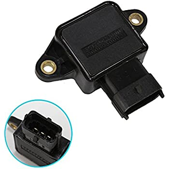 KIA and Saab Nissan Land Rover Replacement for DORMAN 977404 Premium Compatible TPS Throttle Position Sensor For Honda Hyundai
