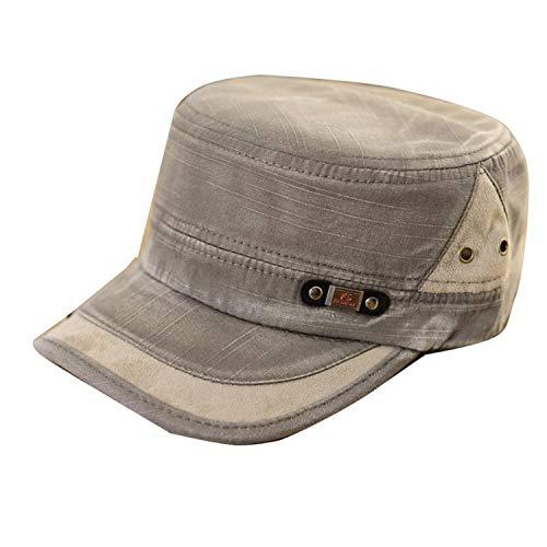 Sox Classic Baseball Keychain - New Classic Men Women Adjustable Army Plain Vintage Hat Cadet Baseball Cap,Army Green