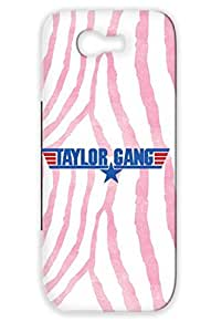Shockproof Taylor Gang Wing Navy For Sumsang Galaxy Note 2 Rock Metal Music Cover Case