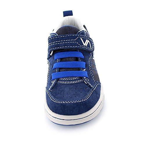 Vado Sid Kinder Sneaker aus Veloursleder in blau Navy Blue