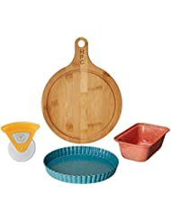 Quiche Tart Pizza Pan, And Loaf Pan Accessory Set For Use In Pressure Cookers And Air Fryer