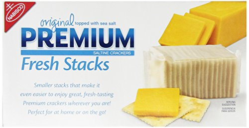 Premium Fresh Stacks Crackers, 13.6 ounces Dipped Peanut Butter Cookies