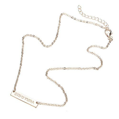 Hebel Hot Jewelry Set Army Boys Love Yourself Chain Necklace Bracelet | Model NCKLCS - 27508 |]()