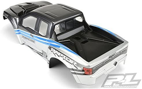 XMAXX Pro-Line Racing 3482-13 2017 Ford F150 Raptor Painted /& Cut Blue