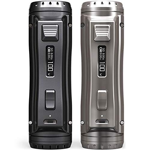 EhPro Cold Steel 100 120W TC Box Mod Akkuträger Farbe Schwarz