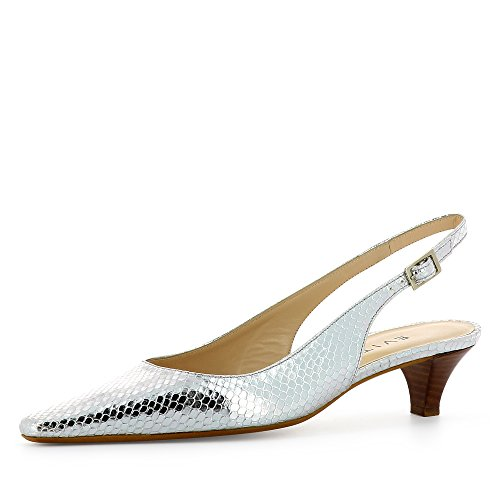 Lia plata Zapatos mujer Shoes vestir Piel de para Evita de q1Fgwzxw5