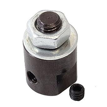icstation 3.17 mm Eje Mini sierra de mesa Chuck adaptador para 6 ...