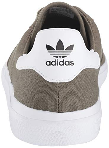 adidas Originals Men's 3MC Regular Fit Lifestyle Skate Inspired Sneakers Shoes, raw khaki/raw khaki/white, 12 M US