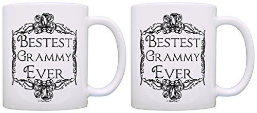 Birthday Grandma Bestest Grammy Coffee